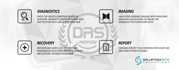 DRS Preview forensic data recovery