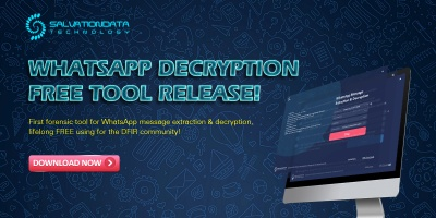 DFIR MobileForensics decrypt recovery WhatsApp Forensics: Decrypt WhatsApp Encrypt Messages Decryption of Encrypted Databases and Extraction of Deleted Messages on Non-Rooted Android and iOS Devices:
