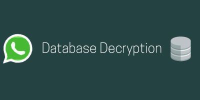 SalvationDATA Mobile Forensics Decrypt Encrypted WhatsApp Database