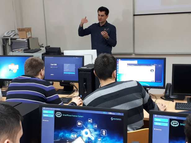SalvationDATA's SPF(SmartPhone Forensic System Professional) has been listed as a training tool at the University of Zagreb